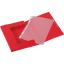 *Hc Chemise Elast.Rabats A4 Rouge (Ref.303-03)